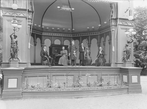 Rullans musikestrad 1890-talet