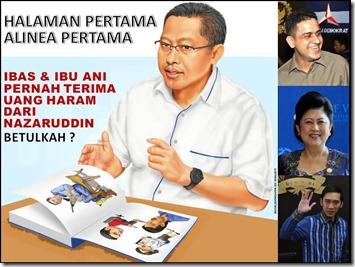 Buku Anas  Skandal Ibas Dan Ibu Any di Kasus Hambalang