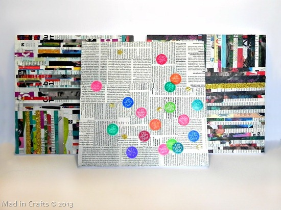 Upcycled Pop Wall Art