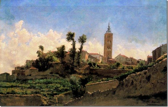 Aureliano de Beruete y Moret-Paisaje de Segovia