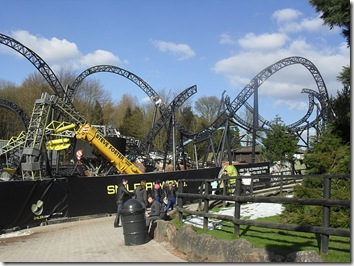 The_Smiler_cel mai mare rollercoaster