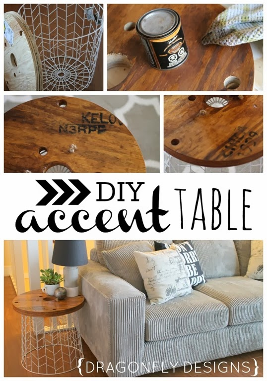 DIY Accent Table #target #inspiration #sofatable