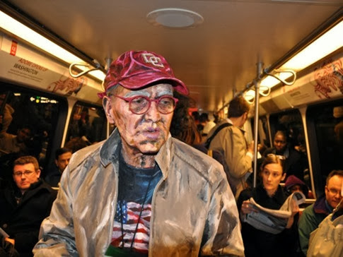 Las increíbles pinturas humanas de Alexa Meade6