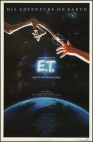 E.T. The Extra Terrestrial - poster
