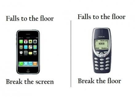 iPhone versus Nokia