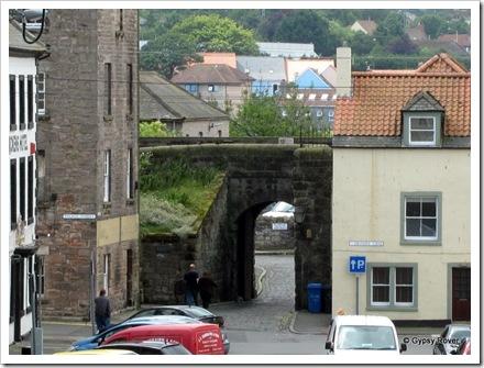 The fortified walls of Berwick upon Tweed