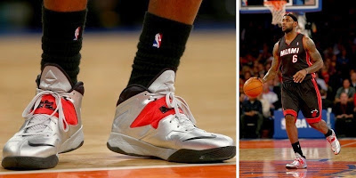 nike zoom soldier 7 pe timeline 140109 shoe soldier7 silverpe King James and His 26 Different Nike Zoom Soldier VIIs in 2013 14