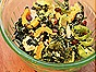 Kale & Brussels Sprout Salad with Delicata Squash and Other Delicious Things