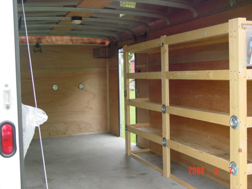 tool storage enclosed trailer tool storage ideas. Black Bedroom Furniture Sets. Home Design Ideas