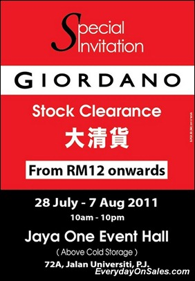 Giordano-Stock-Clearance-2011-EverydayOnSales-Warehouse-Sale-Promotion-Deal-Discount