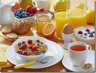 cafe da manhã reforçado