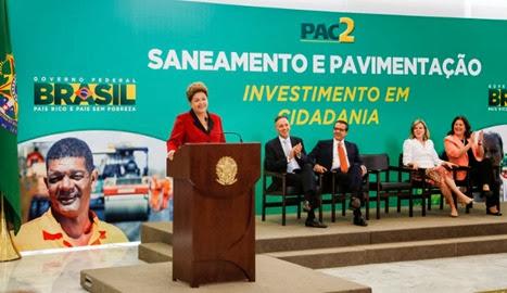 Dilma anúncio PAC 2
