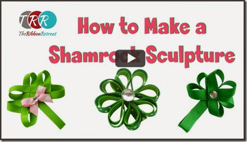 How-To-Make-A-Shamrock-Sculpture