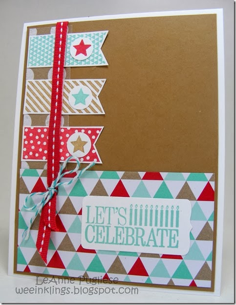 LeAnne Pugliese WeeInklings Stampin Up Birthday Fresh Prints