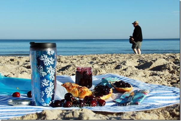 śniadanie nad morzem i konfitura czereśniowa (2)