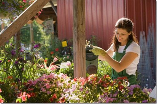 woman-working-in-garden