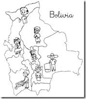 bolivia regiones blogcolorear