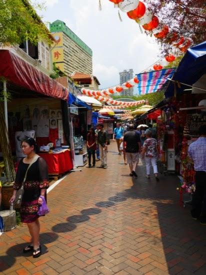 Street scene - Chinatown, Singapore