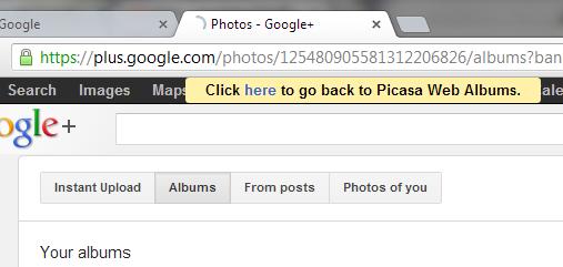 Picasa ถูกย้ายให้ไปใช้ที่ Google Plus แล้ว Googlecando