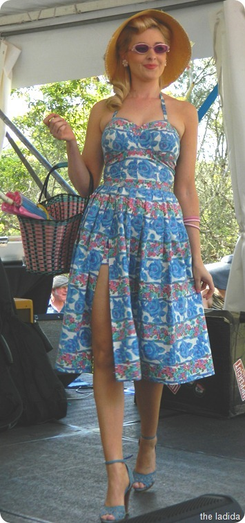 Fifties Fair Swimwear Fashion Dress