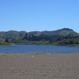 Looking back at the Marin Headlands