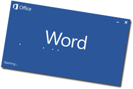 Word start screen