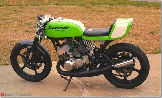 1970s Kawasaki H1 500 Project H1