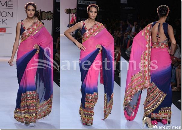Pallavi_Jaipur_Pink_Blue_Saree