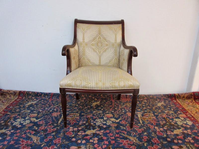 Scroll Back Armchair