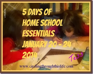 5-Days-of-Home-School-Essentials Circling Through This Life