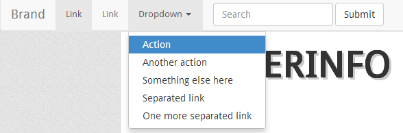 dropdown