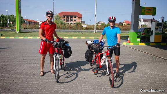 Duminica, 21 iulie 2013. Calatoria noastra pe biciclete incepe din Timisoara