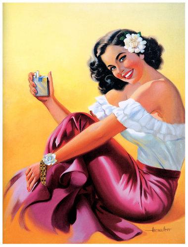 Calendar Art Models : Vintage mexican calendar art sex porn images