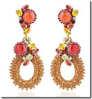 Erickson Beamon Bossa Nova Drop Earrings