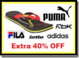 Myntra: Buy Puma, Fila, Lotto & More Flip Flops at Extra 40% OFF – No Minimum Purchase | Starts at Rs. 171