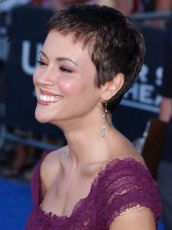 Alyssa Milano celebrity Short hairstyles