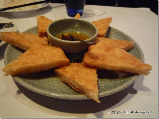 新月廣場銀湯匙-月亮蝦餅