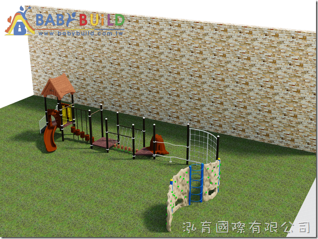 BabyBuild 戶外兒童體能遊樂設施規劃
