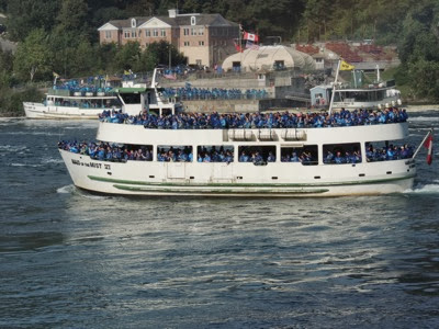 maid of the mist boats