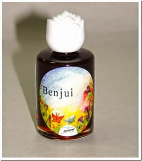aceite de  Benjui