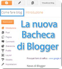 bacheca blogger