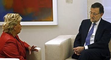Rajoy y la AVT
