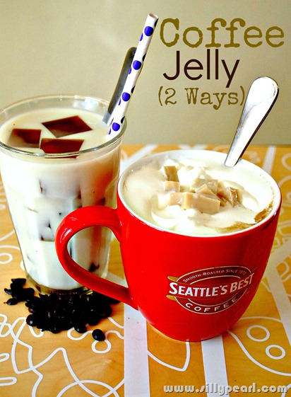 Coffee Jelly Two Ways by The Silly Pearl