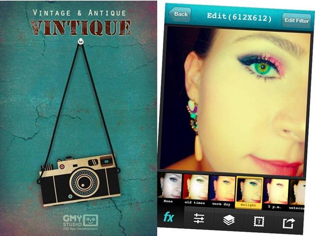 melhores apps fotografia vintique