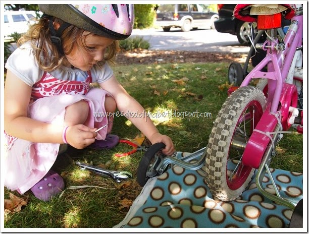B is for Bike {Preschool Alphabet}