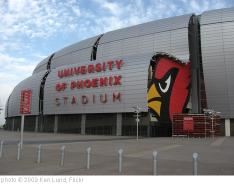 'University of Phoenix Stadium, Home of the Arizona Cardinals (3)' photo (c) 2009, Ken Lund - license: http://creativecommons.org/licenses/by-sa/2.0/
