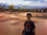 Kai at the Denver skate park