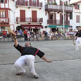 Le fronton de Ciboure est le theâtre une fois par an d'une rencontre du plus vieux jeu de pelote basque le Laxoa