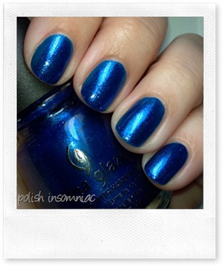 China Glaze Blue Year's Eve 3