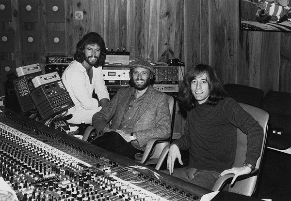 Bee Gees in Middle Ear Studio